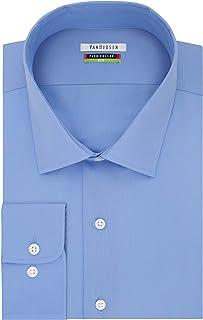 Men's BIG FIT Dress Shirts Flex Collar Solid (Big and Tall)