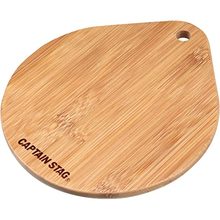 キャプテンスタッグ(CAPTAIN STAG) グランピング キッチン用品 スキレット 竹製プレートUG-3018