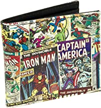 """NEW No Tags  4.5""""x3"""" Marvel Comics Canvas Wallet"""