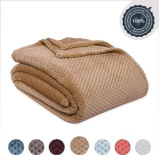 Berkshire Blanket Honeycomb Shimmersoft Bed Blanket, King