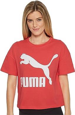 PUMA Classics Logo Tee Solid