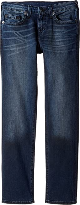 True Religion Kids Geno Slim Fit Jeans in Blue Asphalt (Big Kids)
