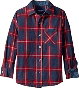Check Flannel Shirt (Infant/Toddler/Little Kids/Big Kids)