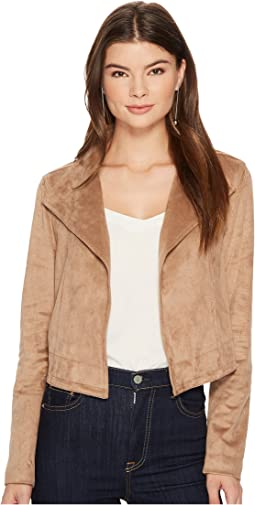 1.STATE - Cropped Suede Jacket