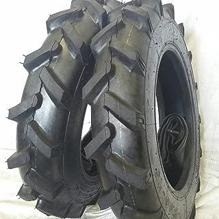 (2 TIRES + 2 TUBES) 6.00-16 8 PLY RW OZK KNK50 R1 Farm Tractor Tire 600168