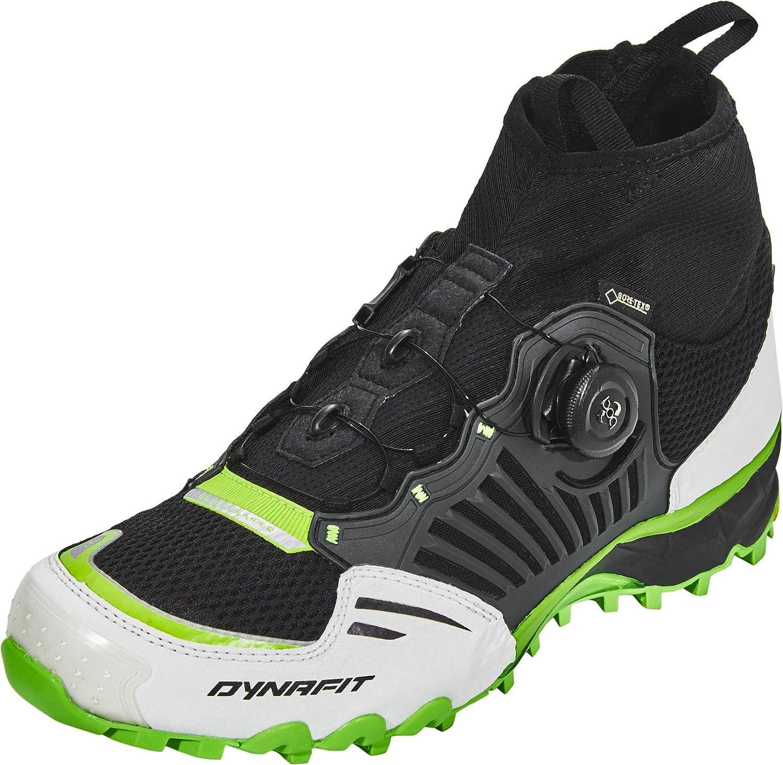 Dynafit Unisex-Erwachsene Un Alpine Pro GTX Traillaufschuhe, schwarz-DNA Grün, 44 EU