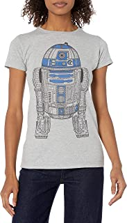 Star Wars Women's Juniors R2D2 T-Shirt