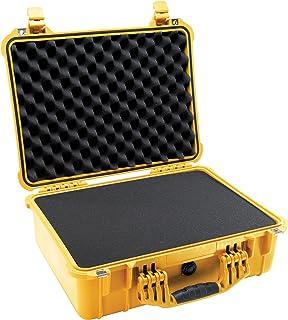 Pelican 1520 Protector Case with Foam, Yellow,Pick N Pluck Foam