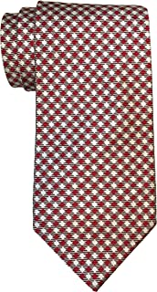 Brooks Brothers Makers and Merchants Red White Checked Tie w/Gift Box