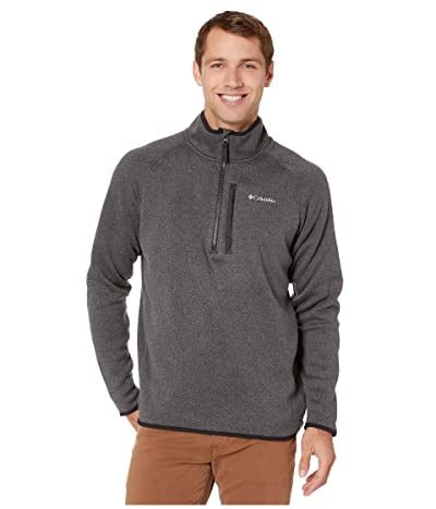 Columbia Canyon Pointtm Sweater Fleece 1/2 Zip (Black) Men