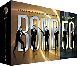 bond 50 box set dvd