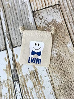 Tooth Fairy Bag | Personalized Tooth Holder for Boys and Girls | Kids Keepsake Gift Idea