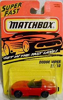 Matchbox 1996 Dodge Viper RT/10 # 10.