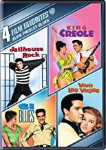 4 Film Fav Elvis Presley Blues: (G.I. Blues / King Creole / Jailhouse Rock / Viva Las Vegas)