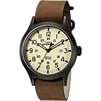 Timex TWC007000 Men's Expedition Scout 40 Watch (Brown/Black/Natural)
