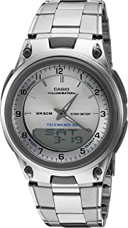 Men's AW80D-7A Sports Chronograph Alarm 10-Year Battery...
