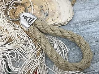 Norderney - Schlüsselanhänger Schlaufe - Reep - handgetüd