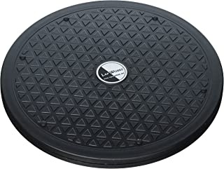 LapWorks 10 inch Heavy Duty Swivel - for Computer Monitors, Potted Plants, Art, and Various Utility uses with Steel Ball Bearings