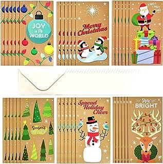 Christmas Money Wallets 4 Pack Cash Voucher Gift Cards Cute Kids Envelopes Set