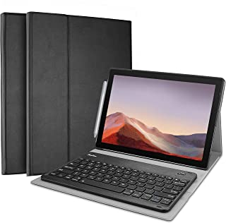 ProCase Keyboard Case for Surface Pro 7 (2019) /Pro 6 (2018) /Pro 5 (2017) /Pro 4 (2015) 12.3 Inch Tablet, Slim Lightweigh...