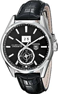 TAG Heuer Mens WAR5010.FC6266 Analog Display Automatic Self Wind Black Watch