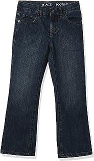 شلوار جین چکمه ای پسرانه در محل کودکان