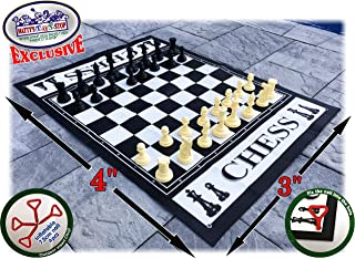 Matty's Toy Stop Deluxe Large Chess (Indoor/Outdoor) Game with 6