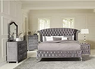Inland Empire Furniture Tremaine Metallic Grey Bedroom Set (Queen)
