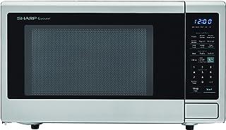 SHARP ZSMC1442CS Carousel 1.4 Cu. Ft. 1000W Countertop Microwave Oven with Orville Redenbacher's Popcorn Preset (IST...