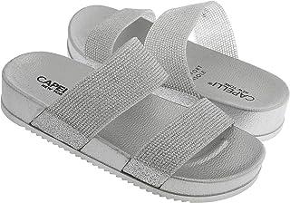 Capelli New York Girls Molded Injected Slide Sandal