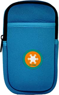 EPI-TEMP Epipen Insulated Case for Kids, Adults – Smart Carrying Pouch, Storage Bag, Powered by PureTemp Phase Change Material to Keep Epinephrine in Safe Temperature Range (Teal)