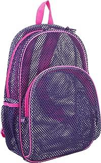Mesh Backpack with Padded Shoulder Straps