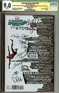 *SIGNED* 13x Amazing Spider-Man #700 Skyline Variant CGC 8.0