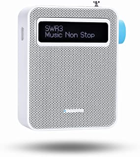 Blaupunkt PDB 100 Steckdosen Radio DAB + | Digital Radio für die Steckdose | UKW Radio | Bluetooth | DAB Plus | RDS Senderinformation | USB Ladefunktion | Senderspeicher | Teleskopantenne | Weiß