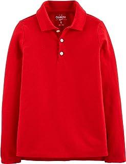 Girls' Toddler Long Sleeve Uniform Polo Shirt