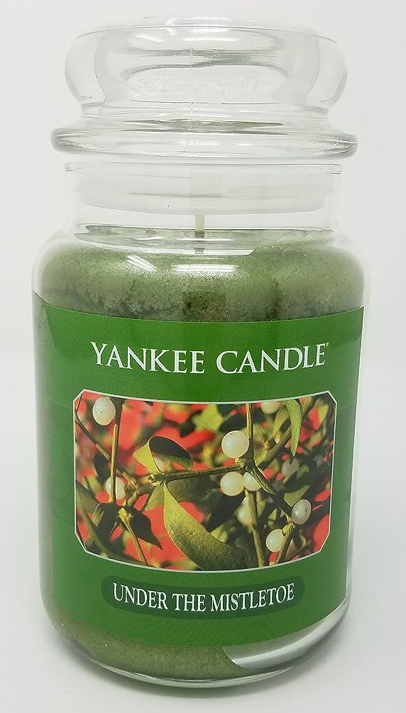 士気安全性甘美なYankee Candle Under the Mistletoe Large Jar Candle