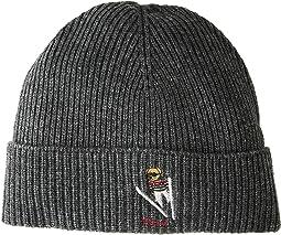 Skier Bear Cuff Hat