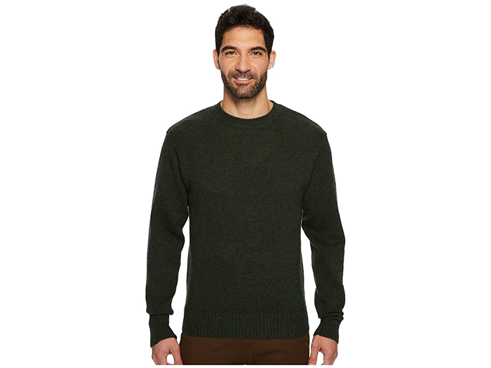 Pendleton Shetland Crew Sweater (Juniper Green) Men