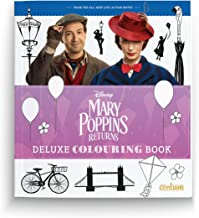 Mary Poppins Returns Deluxe Colouring Book (OGGY ET LES CAFARDS)
