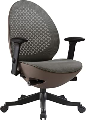 Amazon Com Hon Exposure Mesh Task Computer Chair With 2 Way Adjustable Arms For Office Desk Black Hvl721 Back Furniture Decor