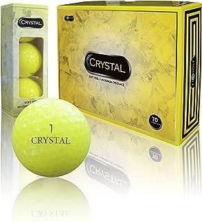 Fl Golf Crystal Golf Balls (Yellow)