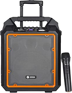 """Zoook - Blue Herculean-The Bass Machine Pro Ultimate Bass Machine, with 200Watts(9000Watts PMPO) RMS, 10"""" Woofer, 25mm twe..."""