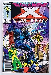 X-Factor #25 Signed by Walter Simonson w/COA FineVery Fine+ 1988 Apocalypse Appearance