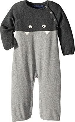 Toobydoo - Little Monsters II Cotton Knit Jumpsuit (Infant)