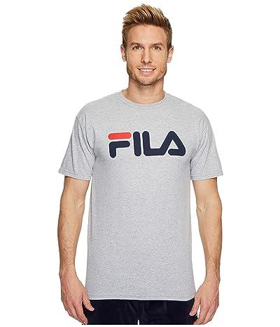 Fila Printed T-Shirt (Gray Heather) Men