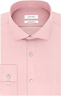 Men's Dress Shirt Xtreme Slim Fit Non Iron Herringbone