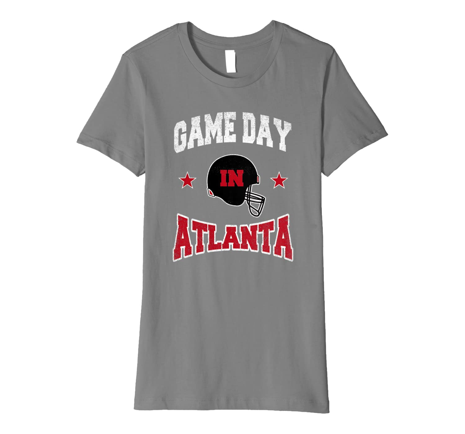 Football Season Game Day in Atlanta Football Fan Premium T-Shirt-Yolotee