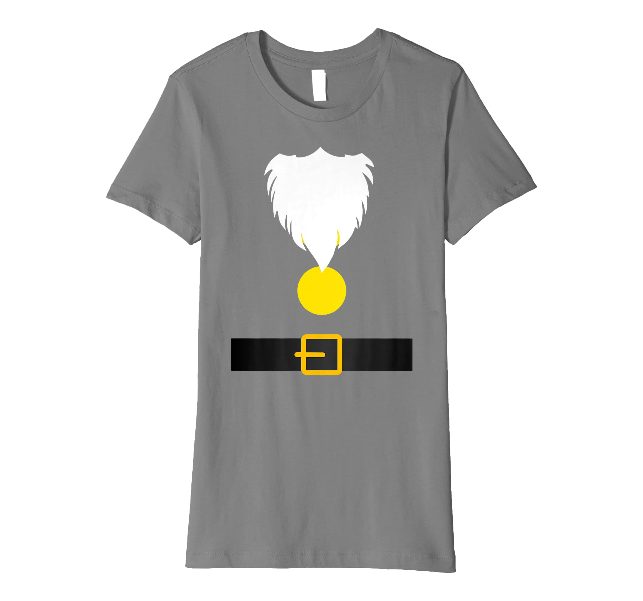 a3e5acb637024 Amazon.com  Funny Dwarf Costume T-Shirt for Halloween or Christmas  Clothing