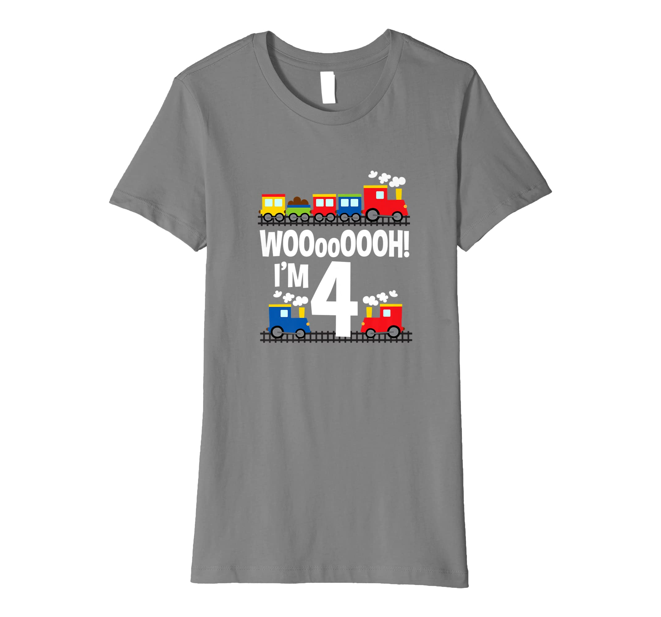 Im 4 Trains Birthday T Shirt For Toddlers Amazoncouk Clothing