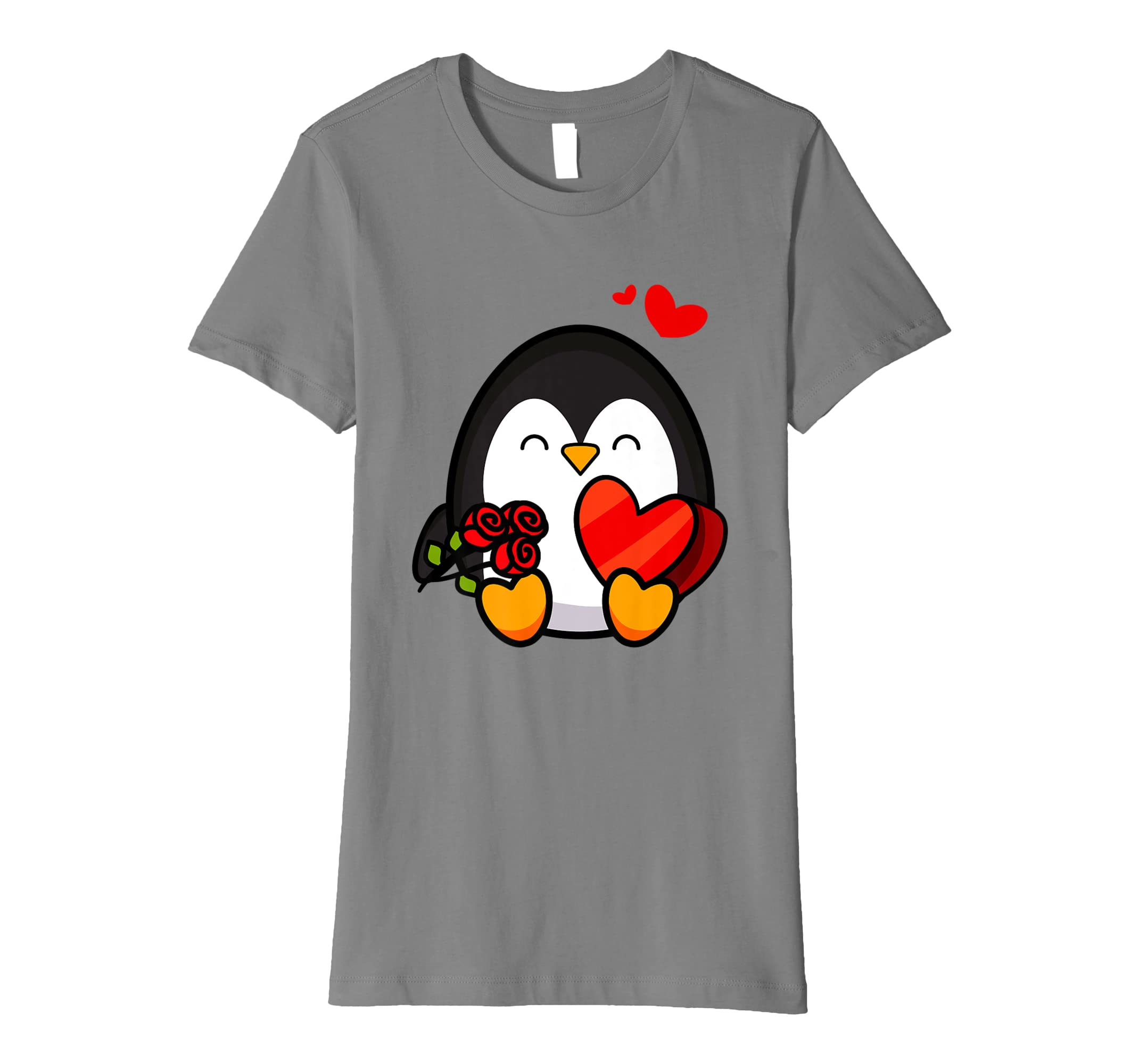 Amazon com: Valentine Penguin Shirt | Cool Cupid Seabird T